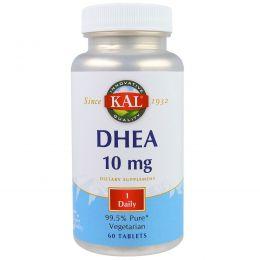 KAL, DHEA, 10 мг, 60 таблеток