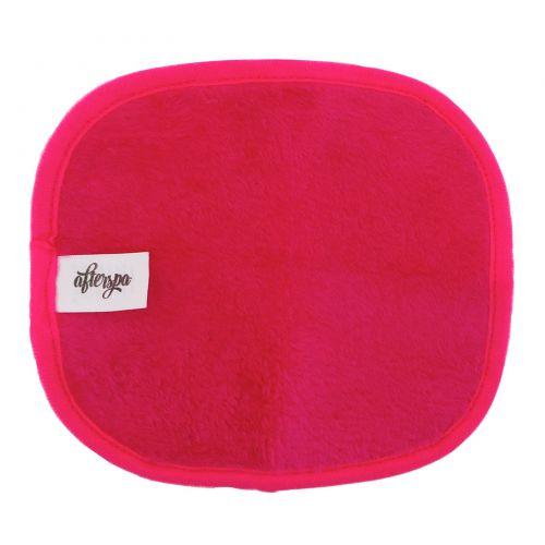 AfterSpa, Волшебная многоразовая салфетка для удаления макияжа - мини, Розовая, 1 салфетка