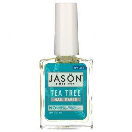 Jason Natural, Масло чайного дерева для ногтей и кутикулы, 0,5 жидких унций (15 мл)
