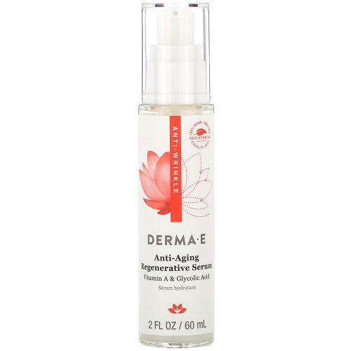 Derma E, Anti-Wrinkle Regenerative Serum, 2 fl oz (60 ml)