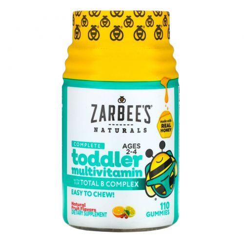 Zarbee's, Complete Toddler Multivitamin, 110 Gummies
