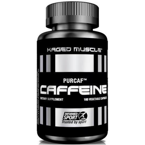 """KagedMuscle, """"ЧистоКоф"""", кофеин, 100 капсул в растительной оболочке"""