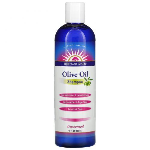Heritage Products, Original, Olive Oil, Unscented Shampoo, 12 fl oz
