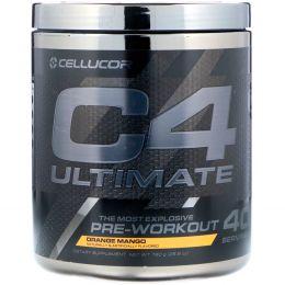 Cellucor, C4 Ultimate, Предтренировочная формула, Апельсин Манго, 26,8 унц. (760 г)