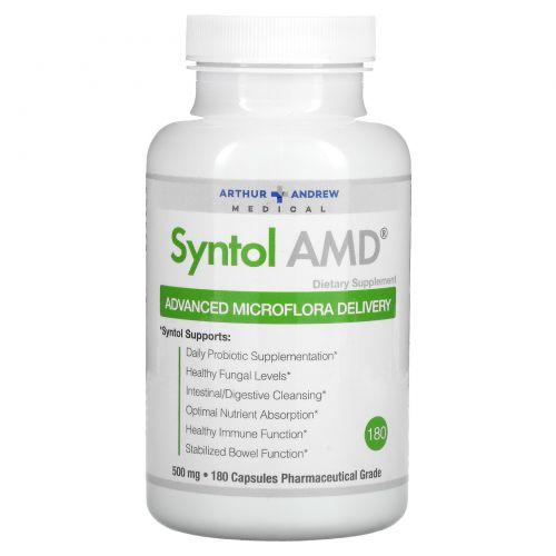 Arthur Andrew Medical, Syntol AMD, добавка для улучшения микрофлоры 180 капсул