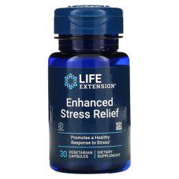 Life Extension, Life Extension, естественное снятие стресса, 30 вегетарианских капсул