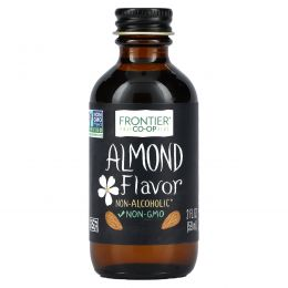 Frontier Natural Products, Almond Flavor, Alcohol-Free, 2 fl oz (59 ml)