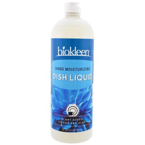 Bio Kleen, Жидкость для мойки посуды, увлажняет руки, 32 жидк. унц. (946 мл)