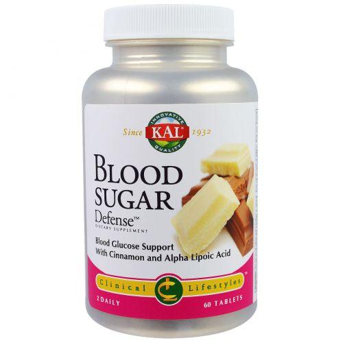 KAL, Регулирование содержания сахара в крови, 60 таблеток