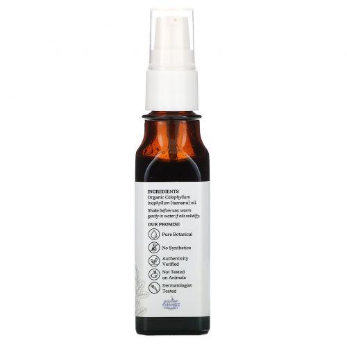 Aura Cacia, Органическое, масло таману, питательное, 1 жидкая унция (30 мл)