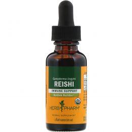 Herb Pharm, Рейши (трутовик лакированный), 1 жидкая унция (30 мл)