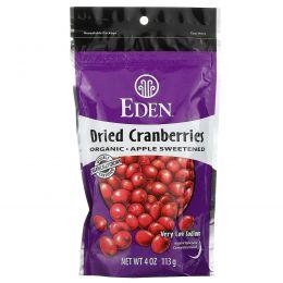 Eden Foods, Органические  сушеные ягоды клюквы, 4 унции (113 г)
