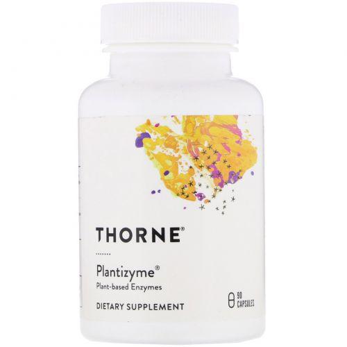 Thorne Research, Plantizyme, 90 растительных капсул