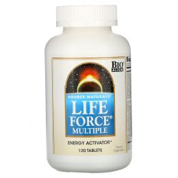Source Naturals, Life Force Multiple, 120 таблеток