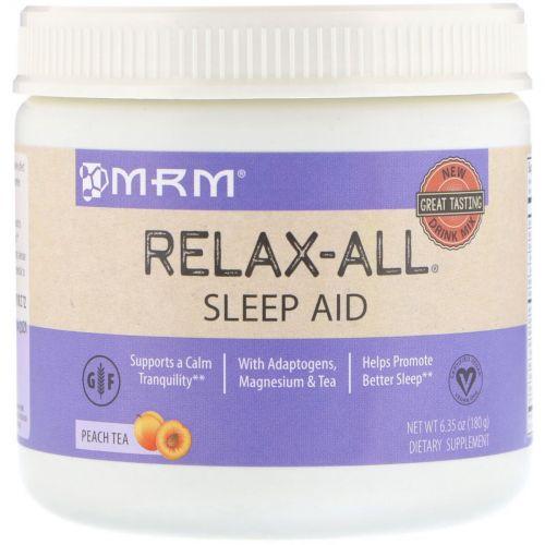 MRM, Relax-All Sleep Aid, Peach Tea, 6.35 (180 g)
