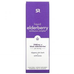 Sports Research, Liquid Elderberry Sambucus Complex Spray, 1,040 mg, 2 fl oz (60 ml)