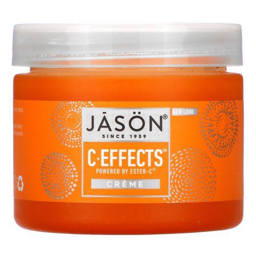 Jason Natural, C Effects, крем, 2 унц. (57 г)