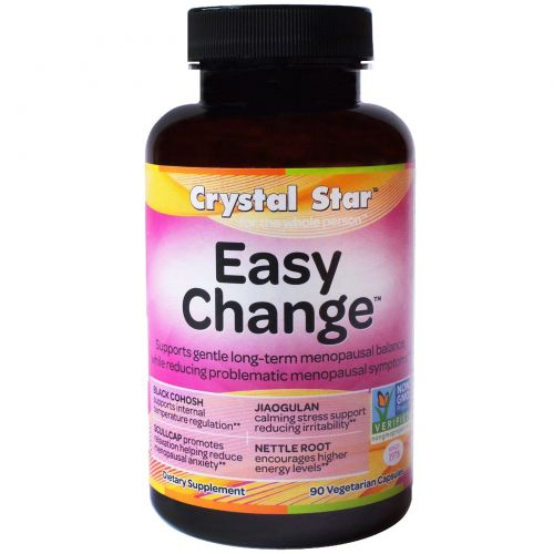 Crystal Star, Easy Change, 90 вегетарианских капсул