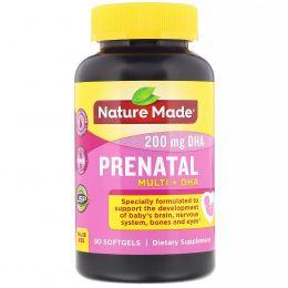 Nature Made, Prenatal Multi + DHA, 90 Softgels