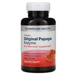 American Health, Жевательный оригинальный фермент папайи, 250 жевательных таблеток