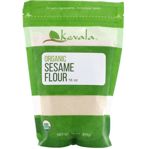 Kevala, Organic Sesame Flour, 16 oz.