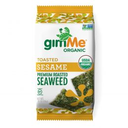 gimMe, Premium Roasted Seaweed, Toasted Sesame , 0.35 oz (10 g)