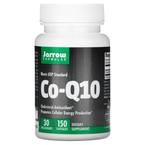 Jarrow Formulas, Со-Q10, 30 мг, 150 капсул