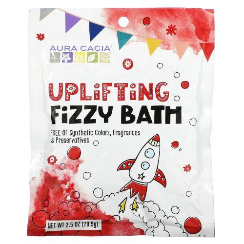 Aura Cacia, Uplifting Fizzy Bath, 2.5 oz (70.9 g)