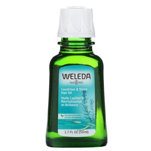 Weleda, Масло розмарина для восстановления волос, 1.7 жидких унций (50 мл)