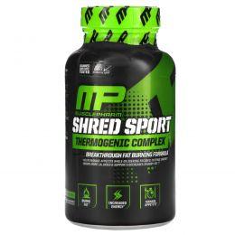 Muscle Pharm, Shred Sport, термогенный комплекс, 60 капсул
