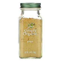 Simply Organic, Имбирь, 1,64 унции (46 г)
