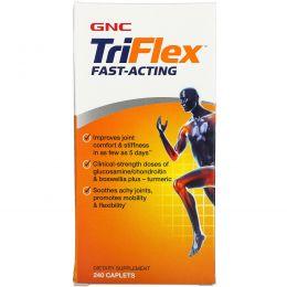 GNC, TriFlex, быстродействующий, 240 капсул