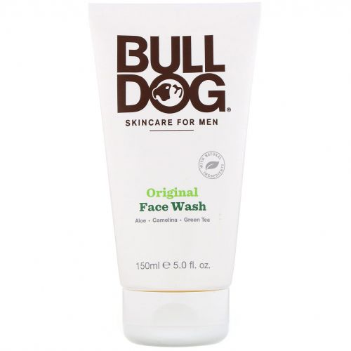 Bulldog Skincare For Men, Оригинальный гель для умывания лица, 5 ж. унц. (150 мл)