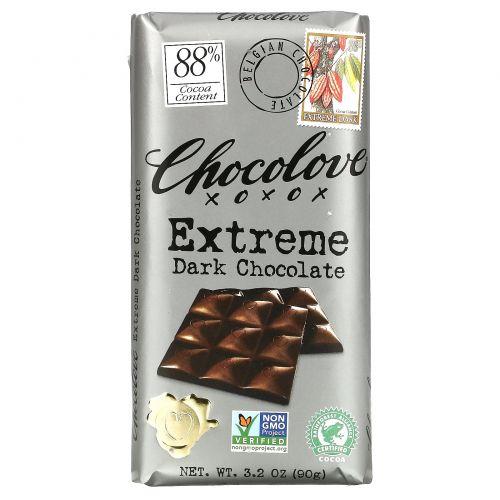 Chocolove, Экстрачерный шоколад, 3,2 унции (90 г)