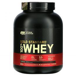 Optimum Nutrition, Золотой стандарт, 100% сыворотка, кофе, 5 фунтов (2.27кг)