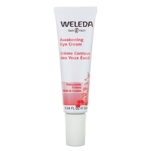 Weleda, Awakening Eye Cream, All Skin Types, 0.34 fl oz (10 ml)