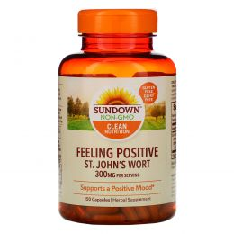 Sundown Naturals, Зверобой, 300 мг, 150 капсул