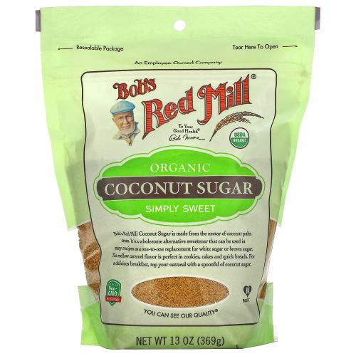Bob's Red Mill, Organic, Coconut Sugar, 13 oz (369 g)