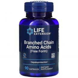 Life Extension, Аминокислоты с разветвленными цепями, 90 вегетарианских капсул