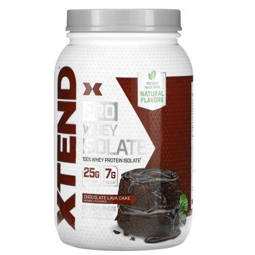 Scivation, Xtend Pro, сывороточный изолят, шоколадный вкус, 1,82 фунта (826 г)