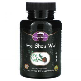 Dragon Herbs, He Shou Wu, 450 мг, 100 капсул