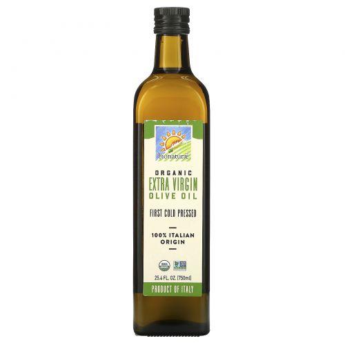 Bionaturae, Органическое оливковое масло первого отжима, 25,4 жидких унции (750 мл)
