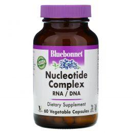 Bluebonnet Nutrition, Комплекс нуклеотидов, РНК/ДНК, 60 капсул на растительной основе