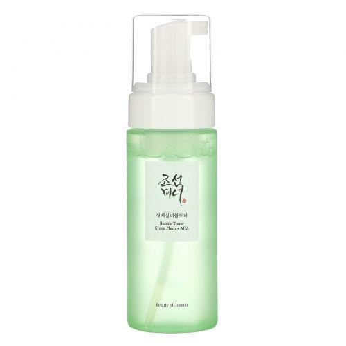 Beauty of Joseon, тоник-пенка, зеленая слива и гликолевая кислота, 150 мл (5,07 жидк. унции)