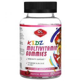 Olympian Labs, Kidz Multivitamin Gummies, Radical Berries, 60 Gummies