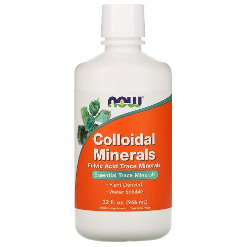 Now Foods, Коллоидные минералы, 32 жидких унций (946 мл)