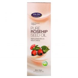 Life Flo Health, Чистое масло из семян шиповника, 4 жидких унции (118 мл)