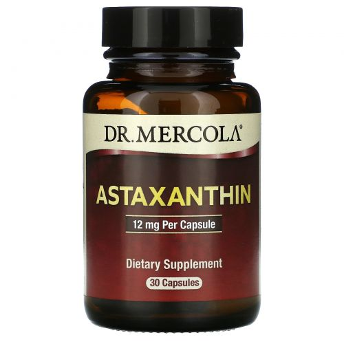 Dr. Mercola, Astaxanthin, 12mg, 30 Capsules