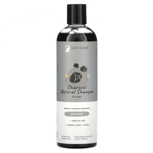 Kin+Kind, Charcoal, Deep Clean Dog Shampoo, 12 fl oz (354 ml)