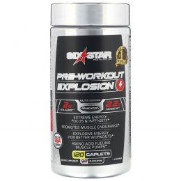 Six Star, Pre-Workout Explosion, 120 Caplets